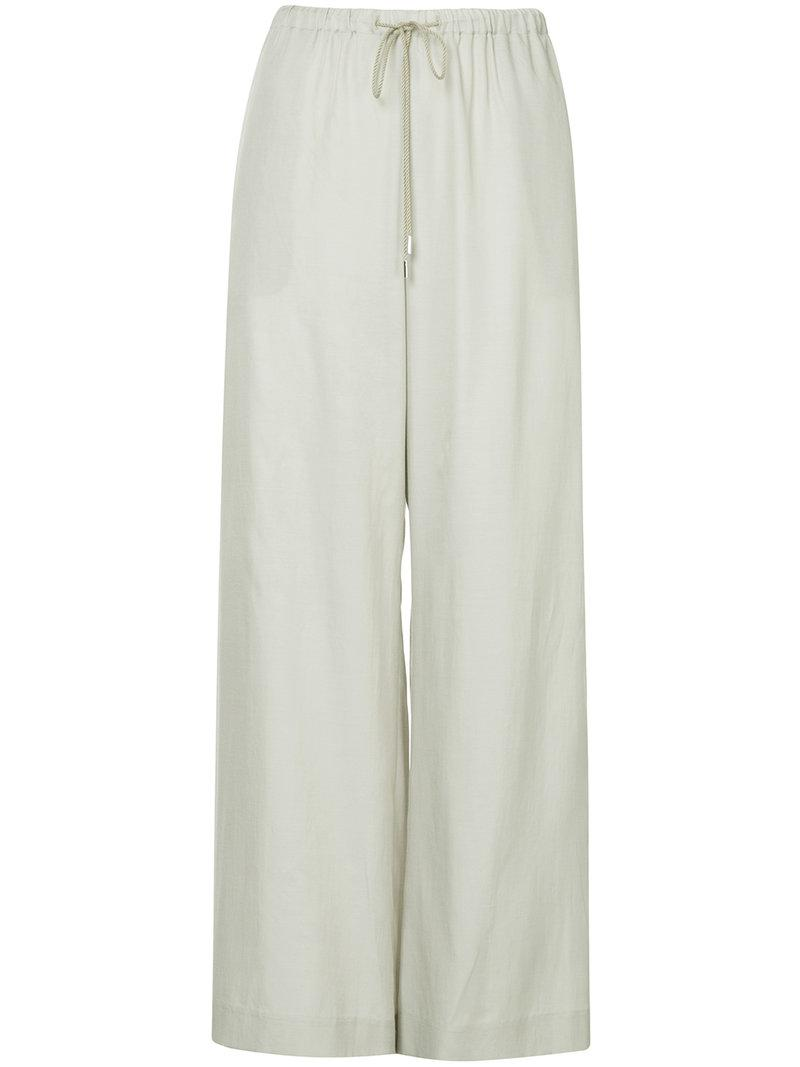 high-waisted trousers - Grey Astraet IcstyNGiy