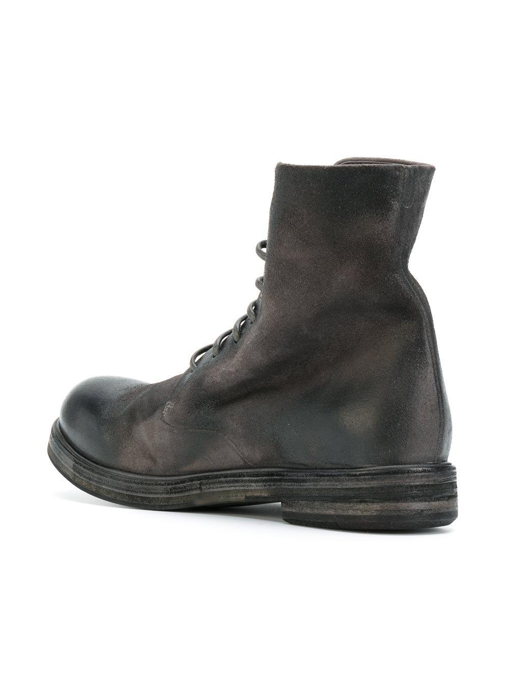 Lyst In Marsèll Boots For Combat Black Men n0vNmw8