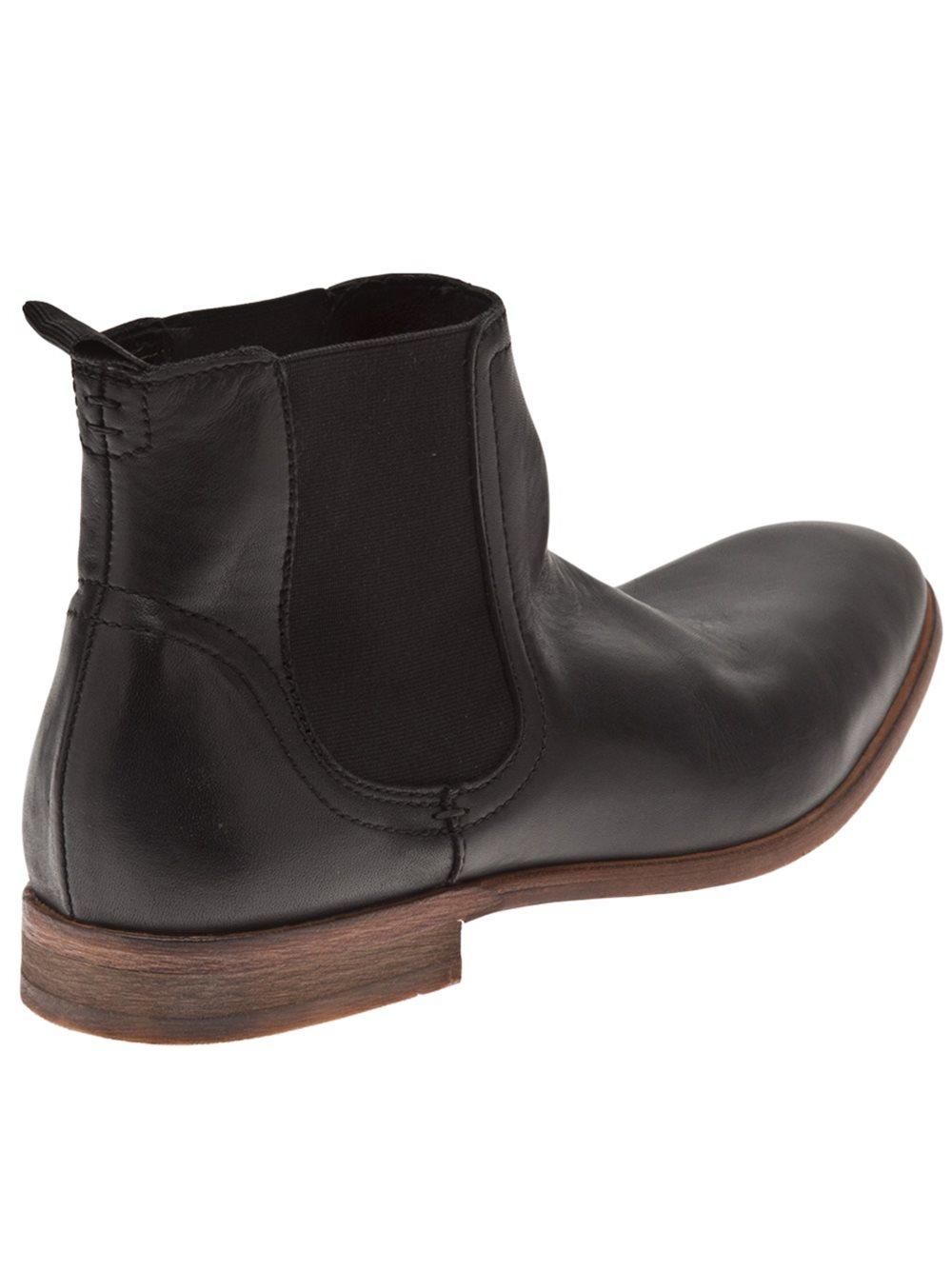 h by hudson 39 chelsea 39 boot in black for men lyst. Black Bedroom Furniture Sets. Home Design Ideas