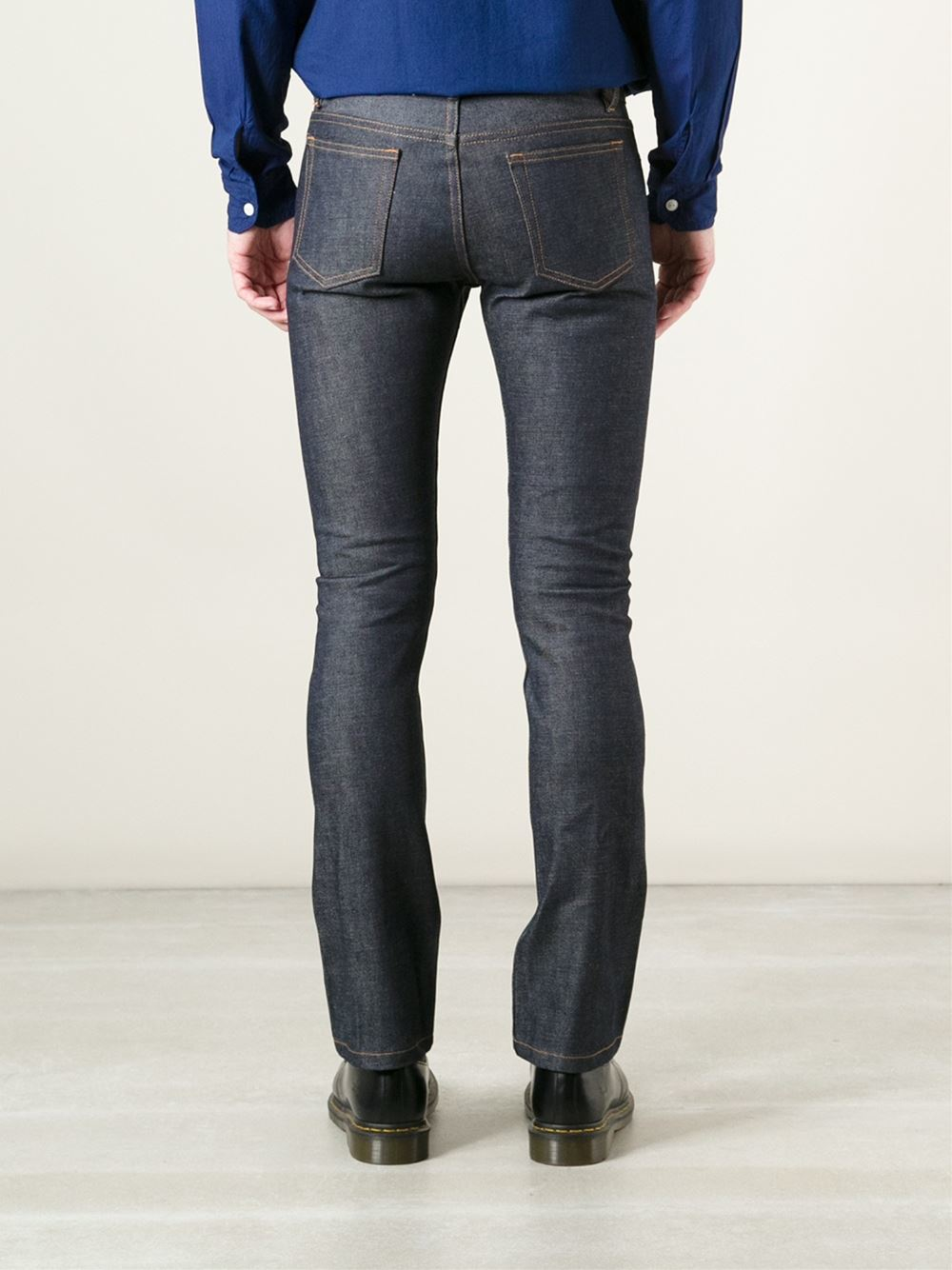A.p.c. 'new Cure' Jeans in Blue for Men