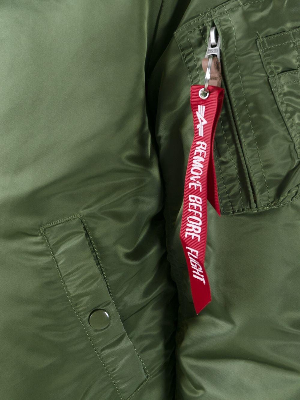 Alpha Industries Ma1 Bomber Jacket Slim Fit