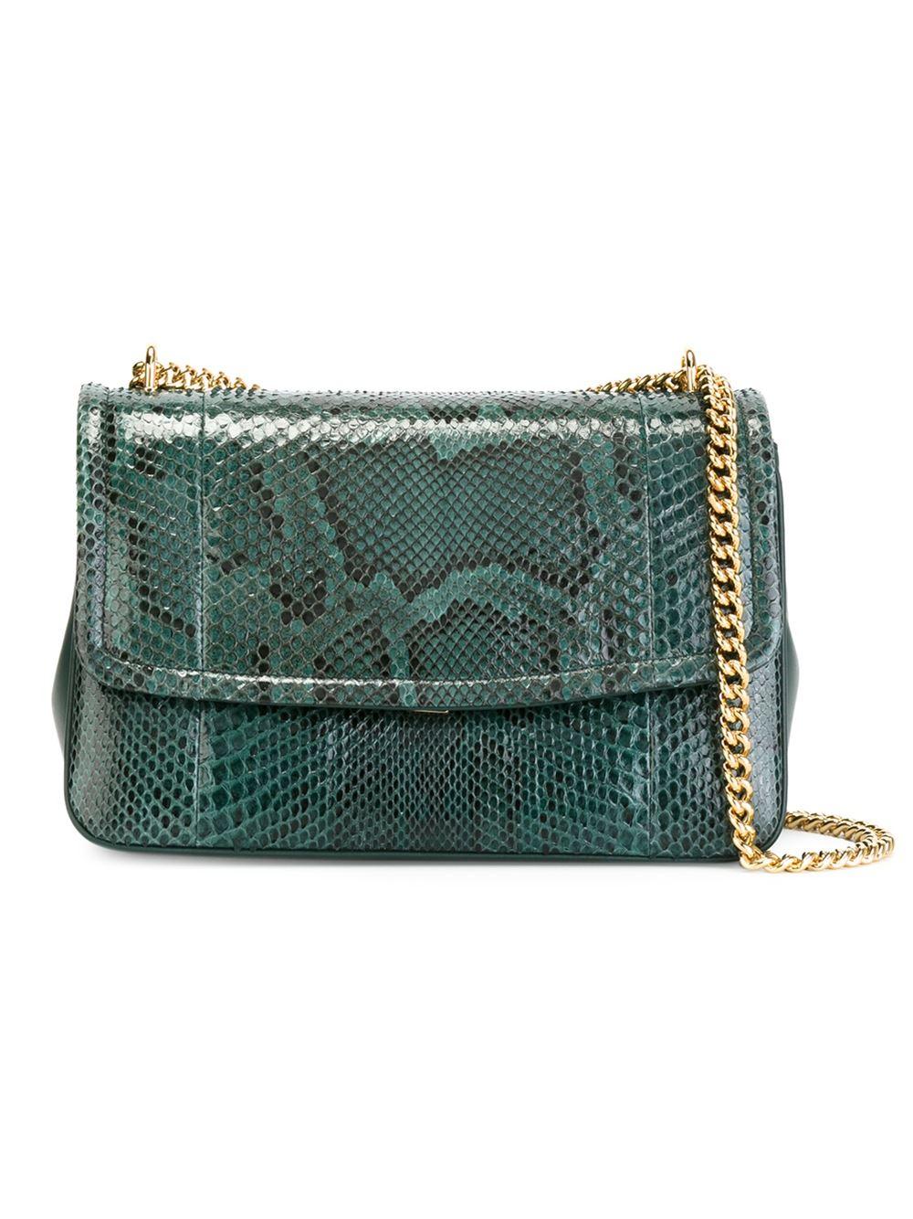 Lyst - Dolce   Gabbana  margherita  Shoulder Bag in Green 7a4ef10c1ea02