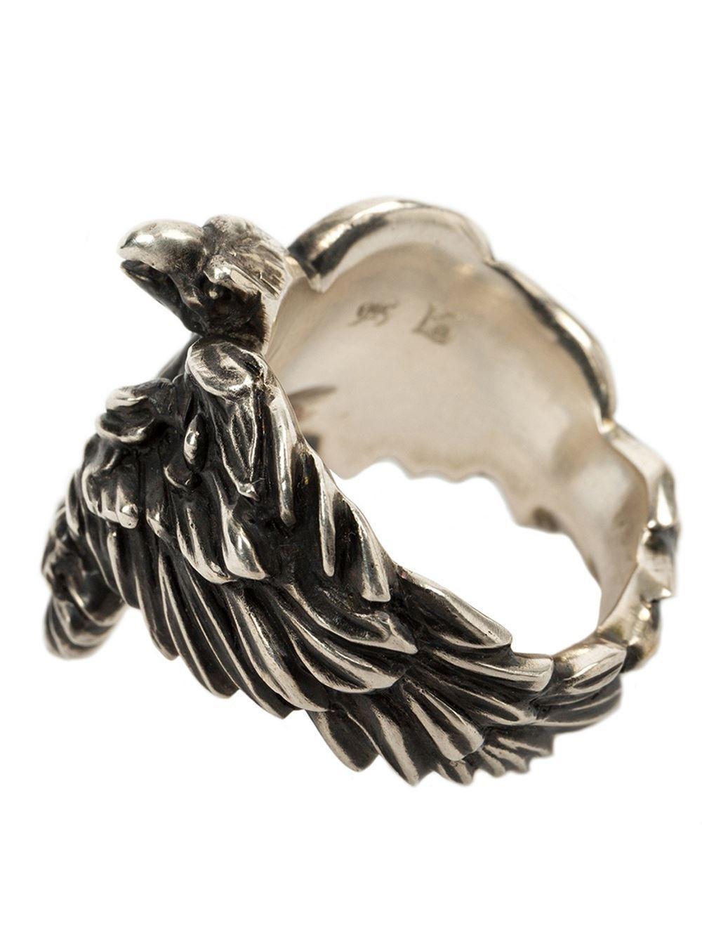 werkstatt m nchen eagle ring in metallic for men lyst. Black Bedroom Furniture Sets. Home Design Ideas