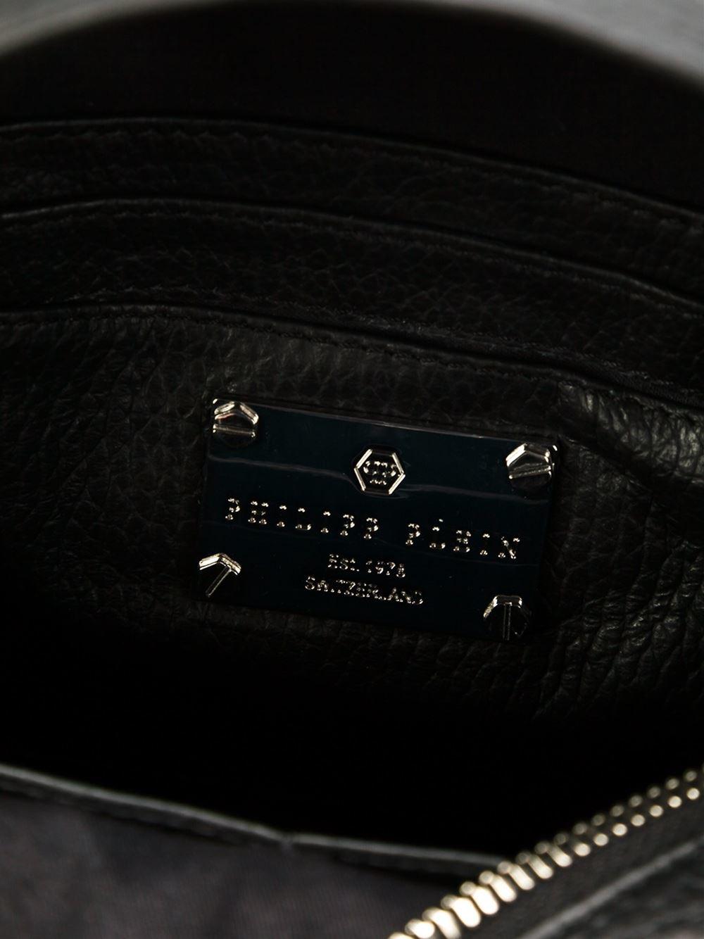 lyst philipp plein mini 39 bad kingdom 39 backpack. Black Bedroom Furniture Sets. Home Design Ideas