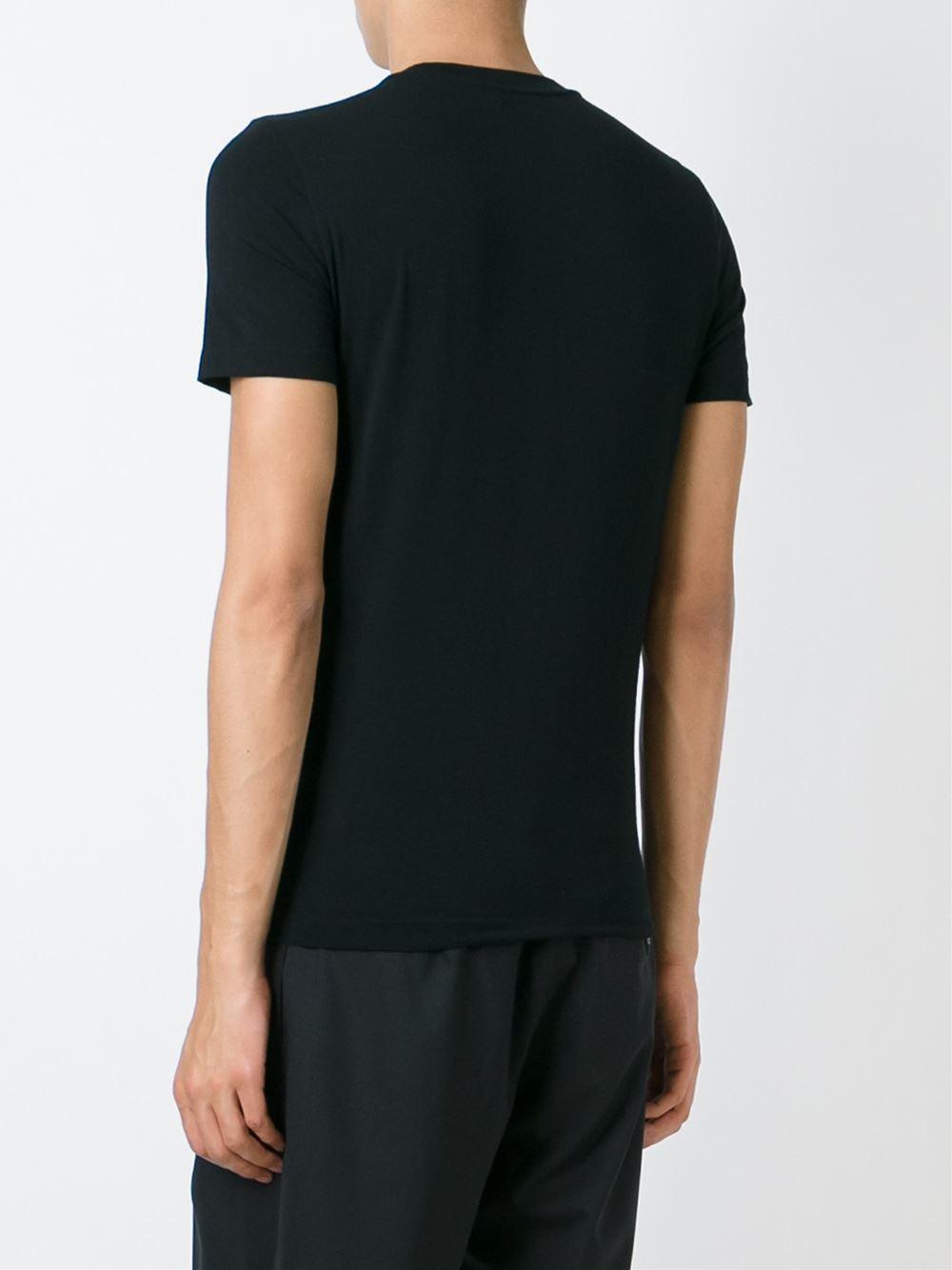 Fendi Bag Bugs T Shirt In Black For Men Lyst