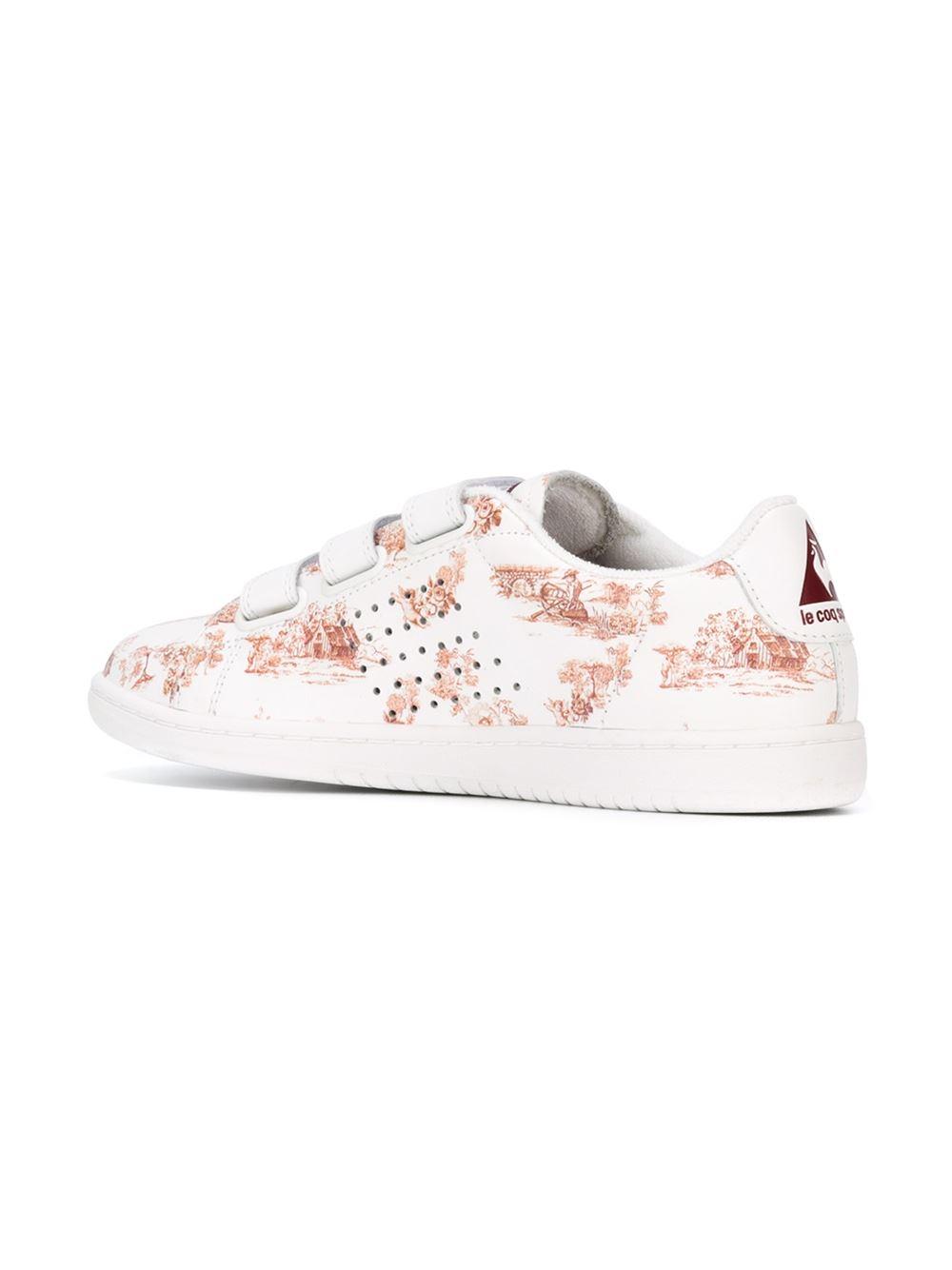 le coq sportif arthur ashe sneakers in white lyst