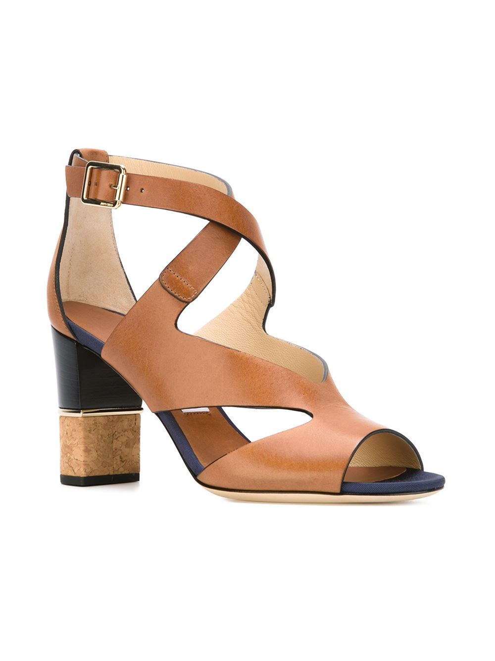 Jimmy choo 'mira' Sandals in Brown