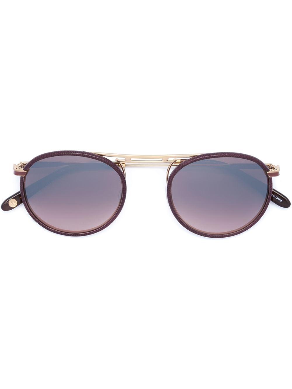 Garrett leight 'cordova' Sunglasses in Purple (RED)