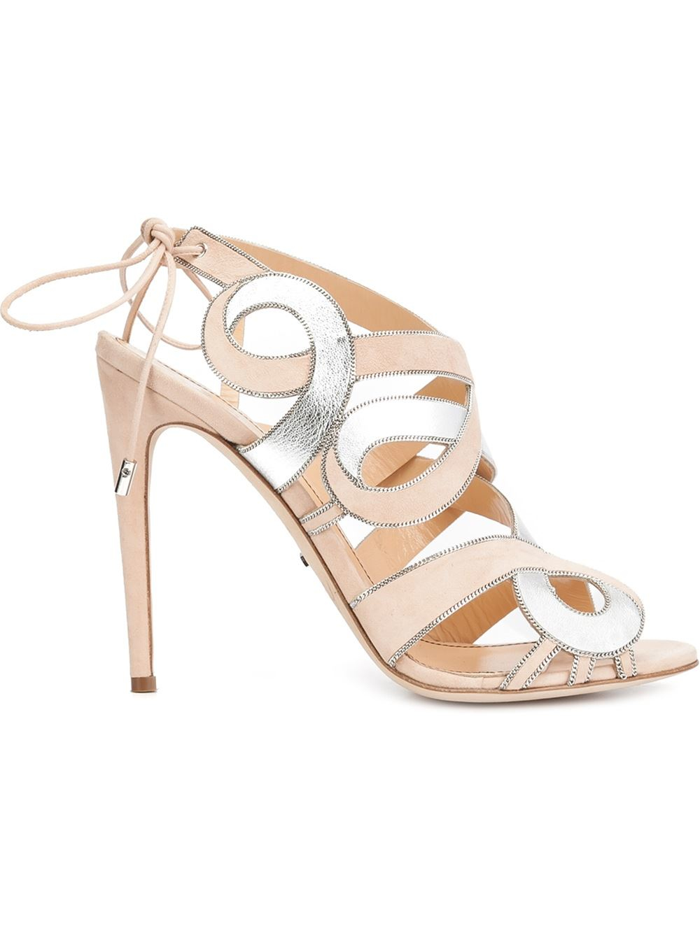 Jerome C. Rousseau Ruched Slingback Sandals high quality online buy cheap excellent Ld5XDkkJ