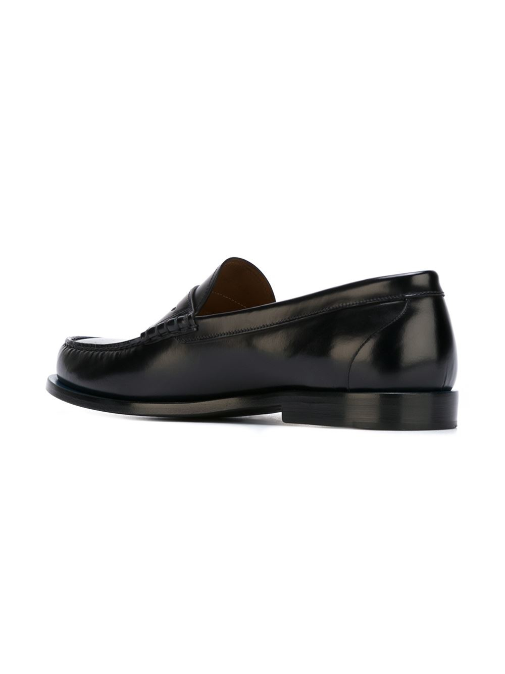 Lyst Givenchy Classic Penny Loafers In Black For Men