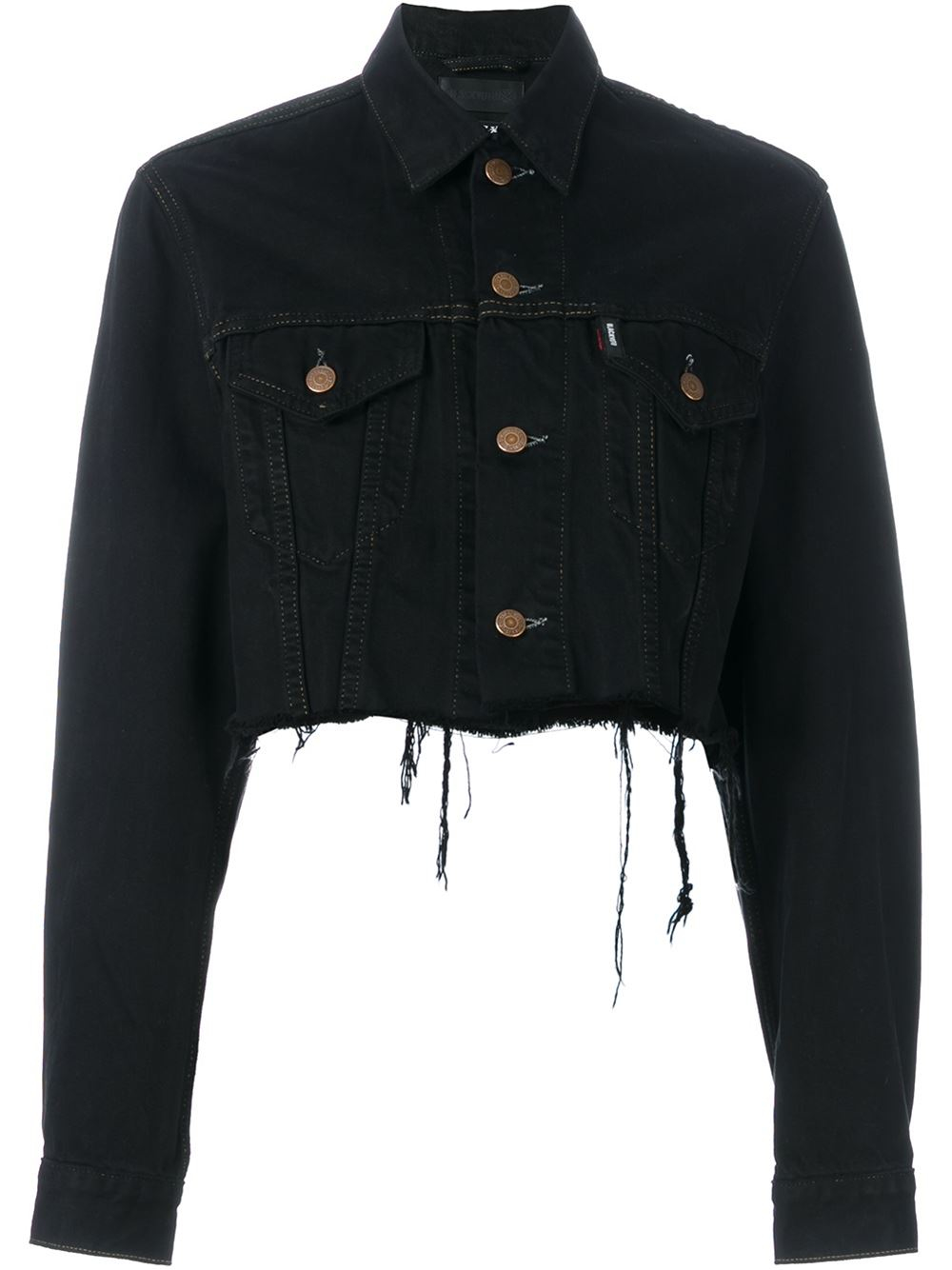 To acquire Cropped black jean jacket photo pictures trends