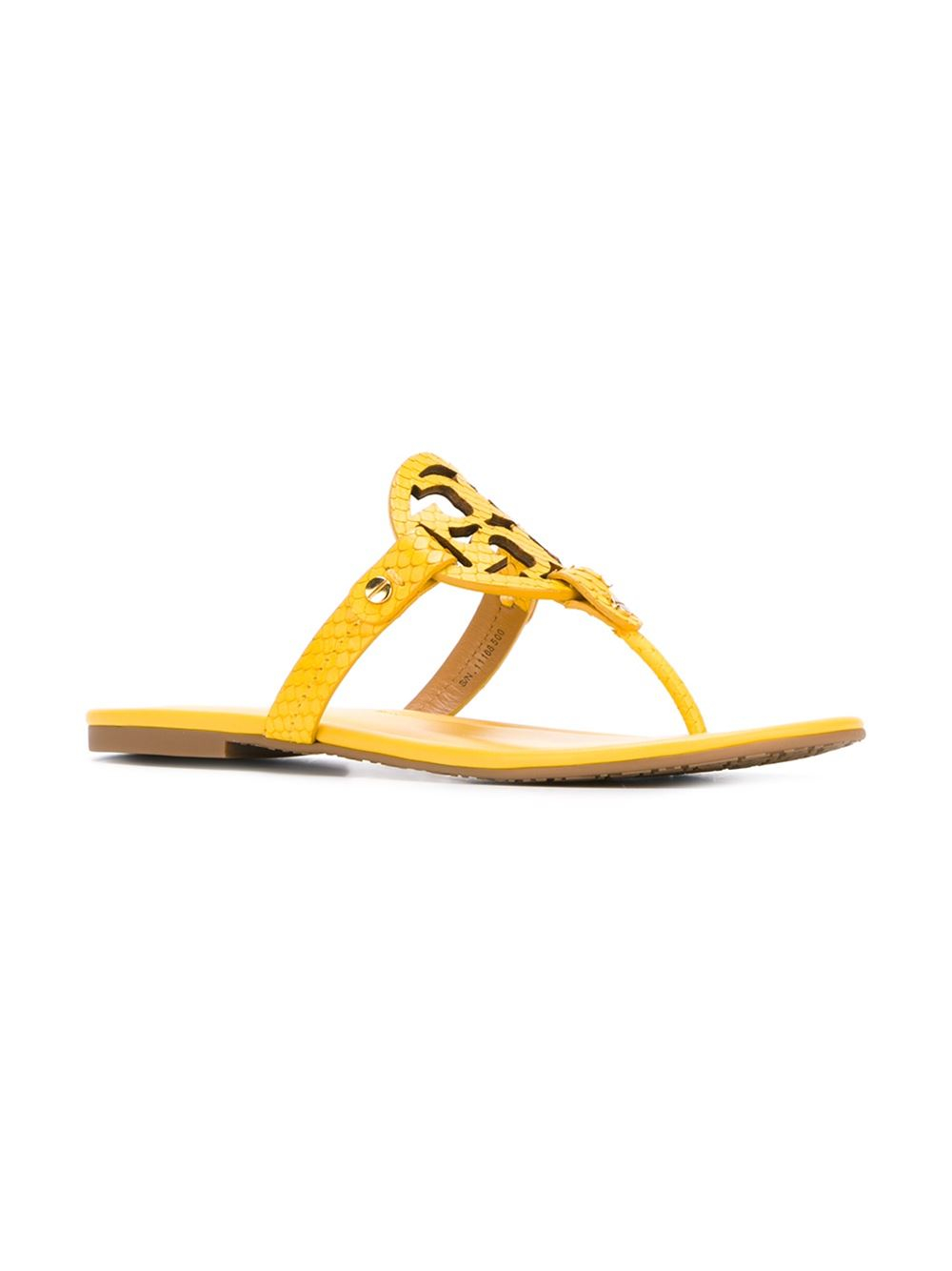 Lyst Tory Burch Miller Thong Sandals In Yellow