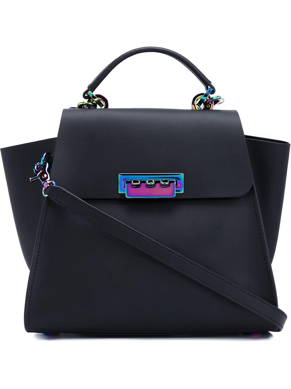 Zac Zac Posen Eartha Iconic Convertible Backpack In Black