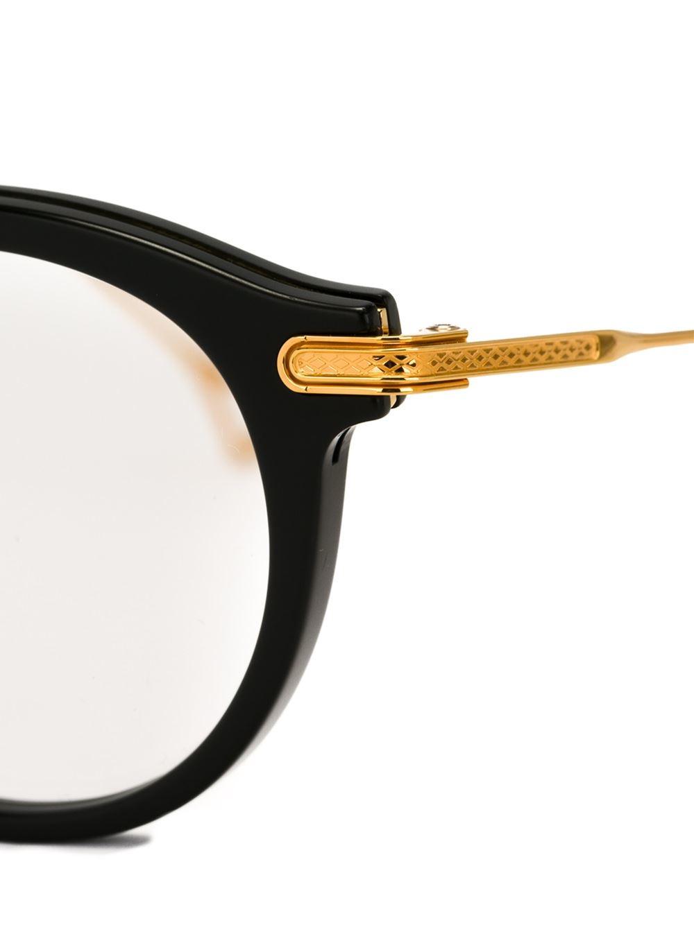 Dita Eyewear Edmont Glasses In Black For Men Lyst