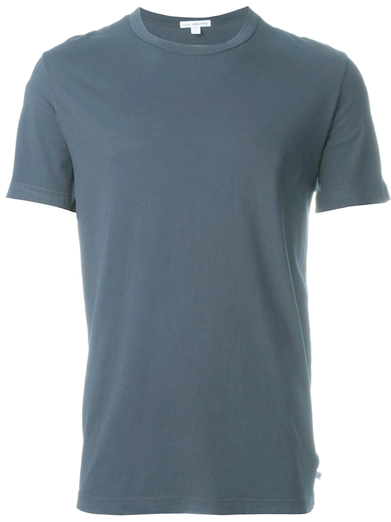James perse 39 troubadour 39 t shirt in blue for men lyst for James perse t shirts sale