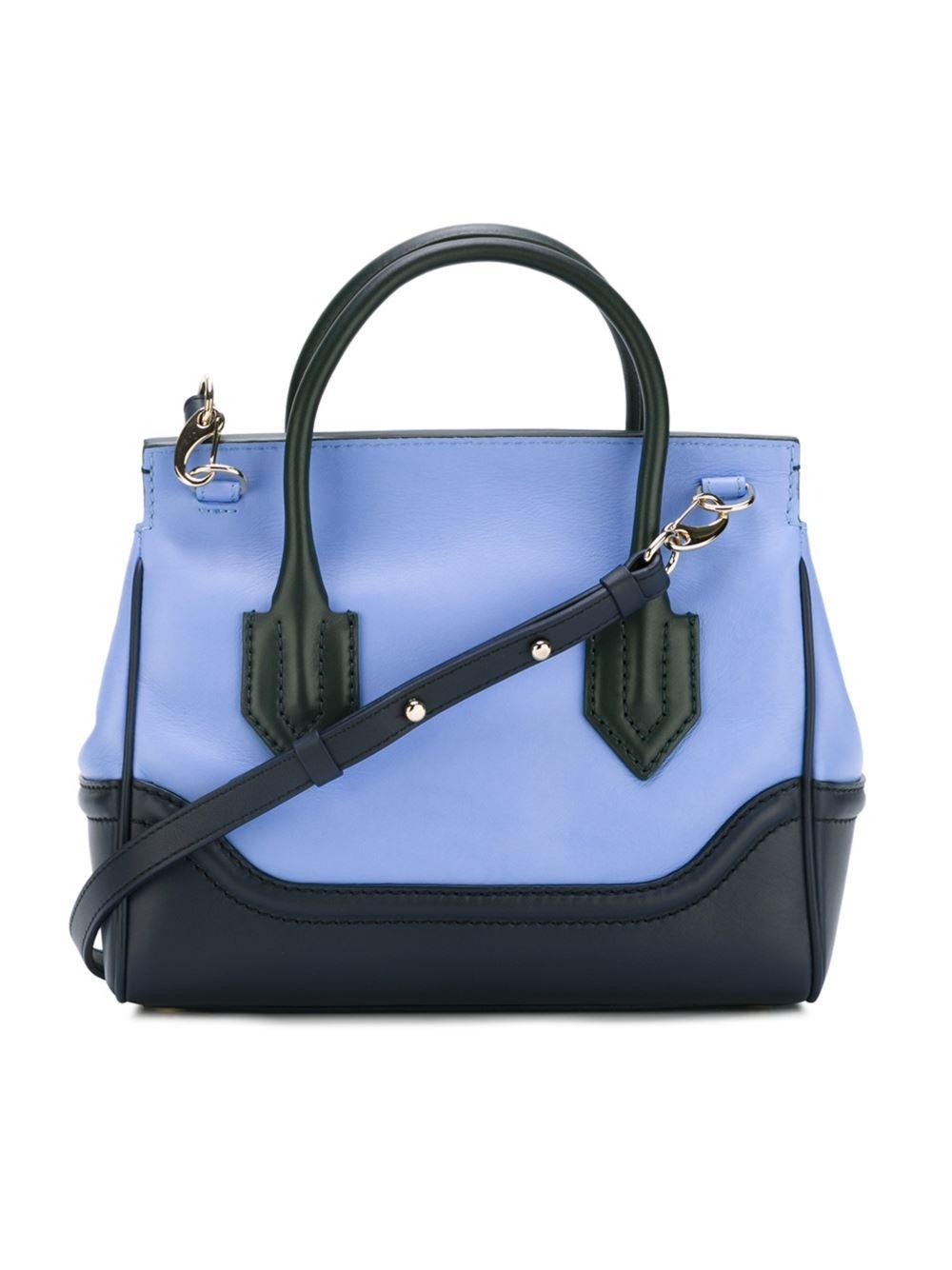 56481bc9c2 Lyst - Versace Palazzo Empire Tote in Blue