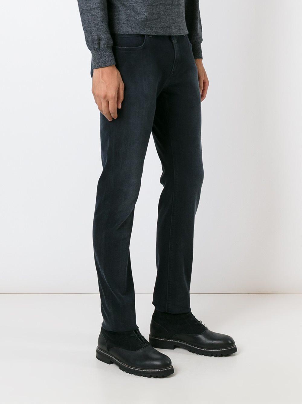 closed dark wash jeans in blue for men lyst. Black Bedroom Furniture Sets. Home Design Ideas