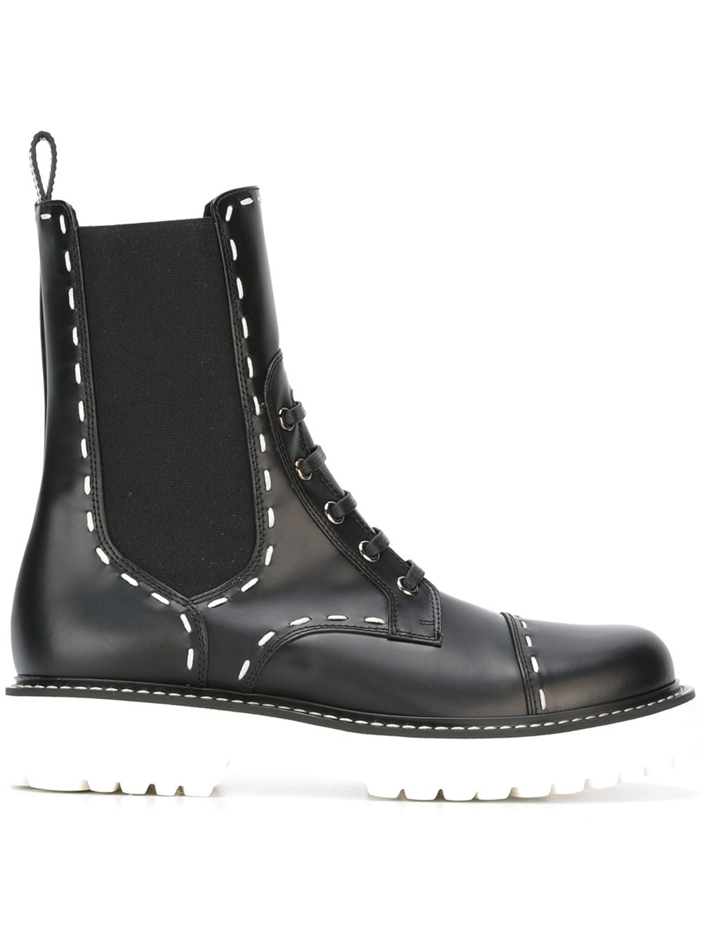dolce gabbana utility boots in black lyst