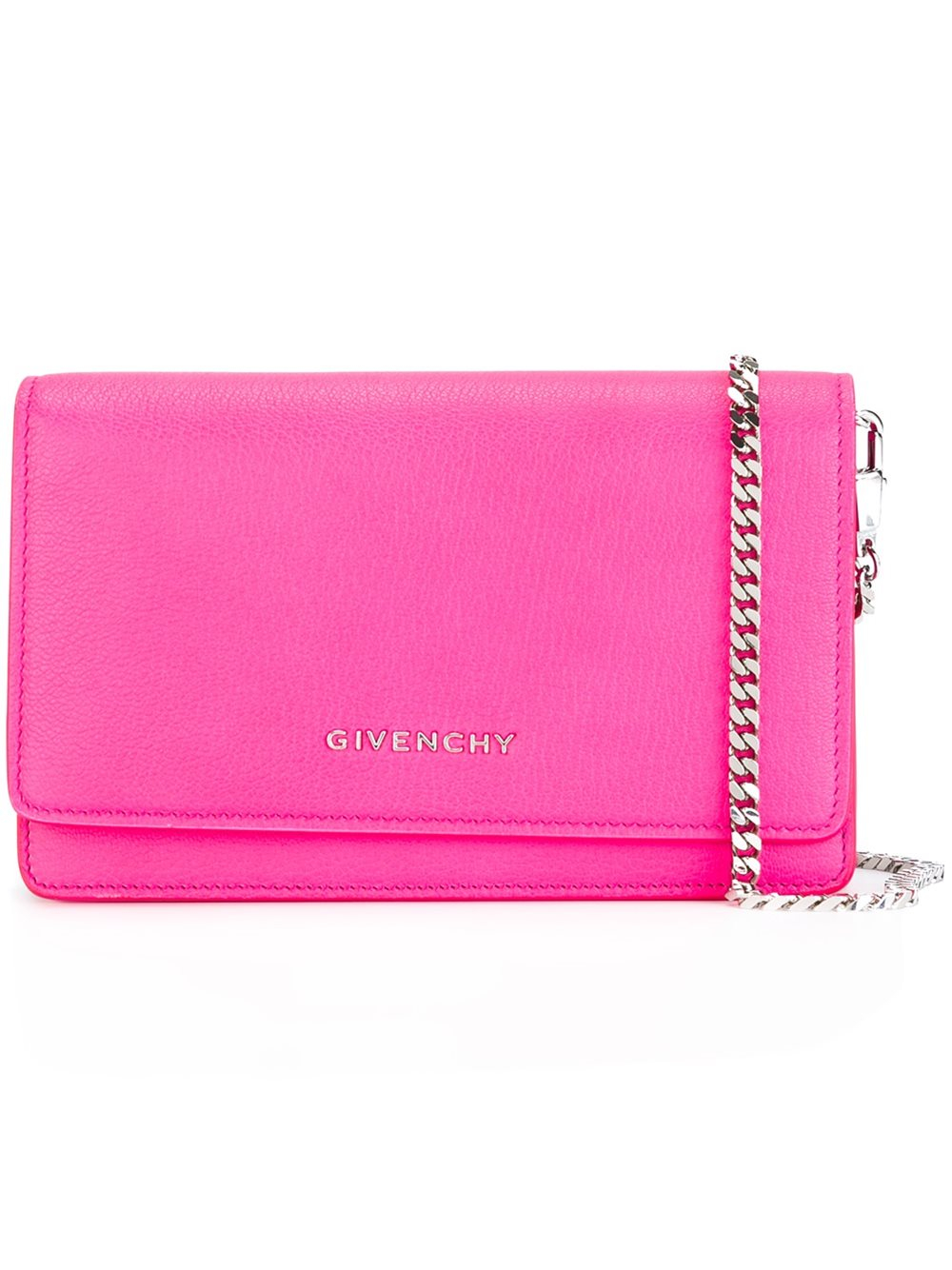 23c7cac8879a Lyst - Givenchy Small  pandora  Chain Wallet in Pink