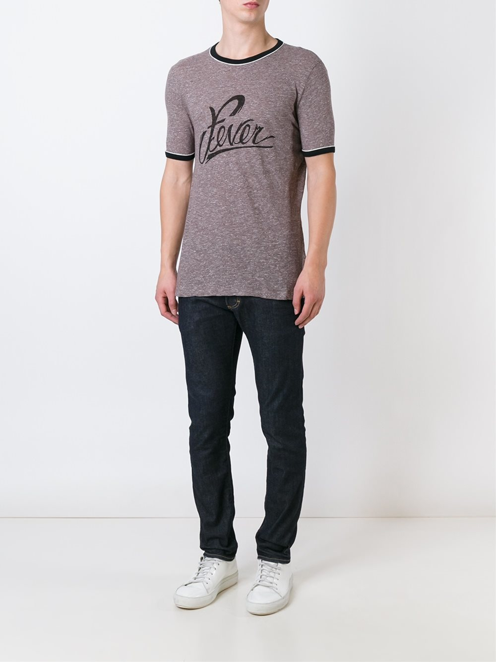 Lyst - Marc jacobs Fever Print T-shirt in Brown for Men