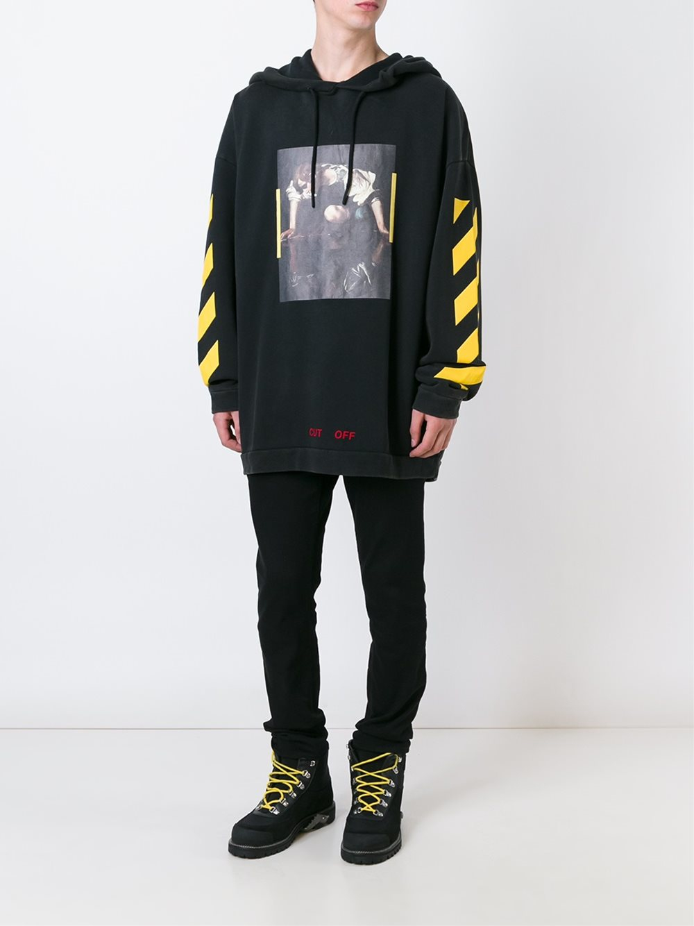 0255e4154cf1 Lyst - Off-White c o Virgil Abloh  narciso  Hoodie in Black for Men