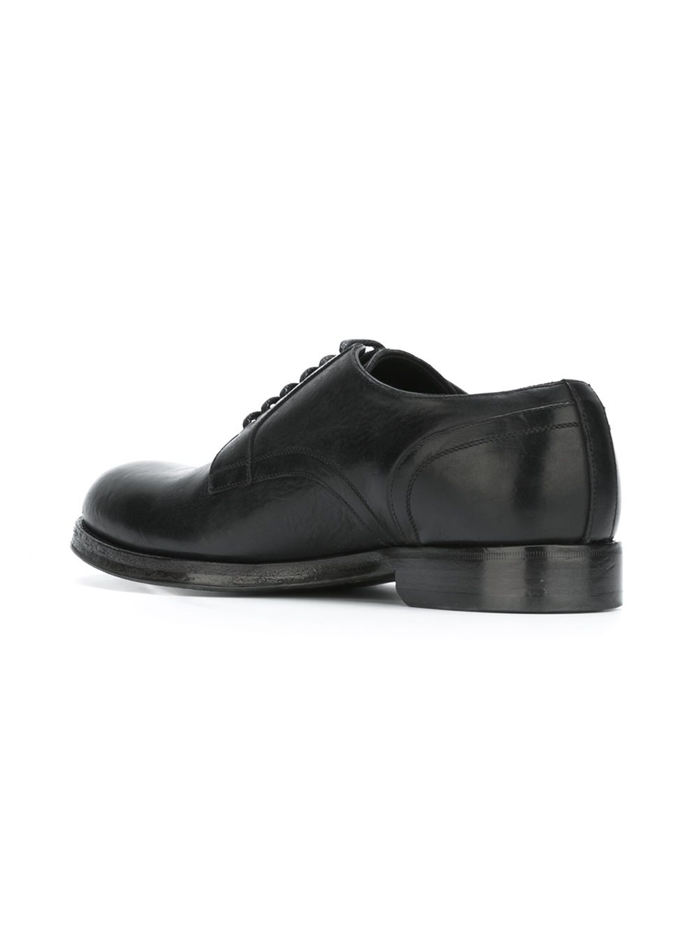 Derby Shoes Mens Chunky