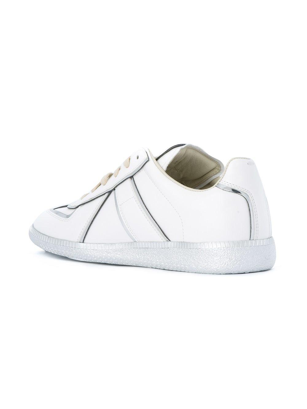 Maison margiela 'replica' Sneakers in White | Lyst