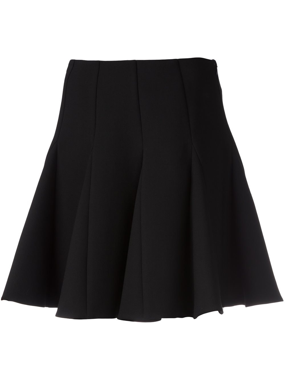 valentino a line mini skirt in black lyst