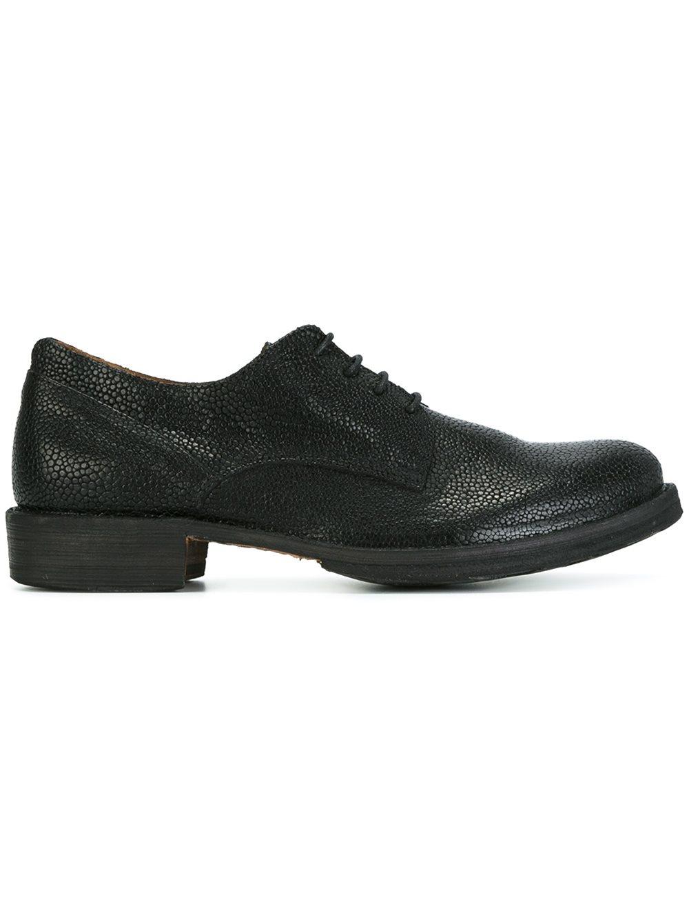 fiorentini baker 39 eternity 39 derby shoes in black for men. Black Bedroom Furniture Sets. Home Design Ideas