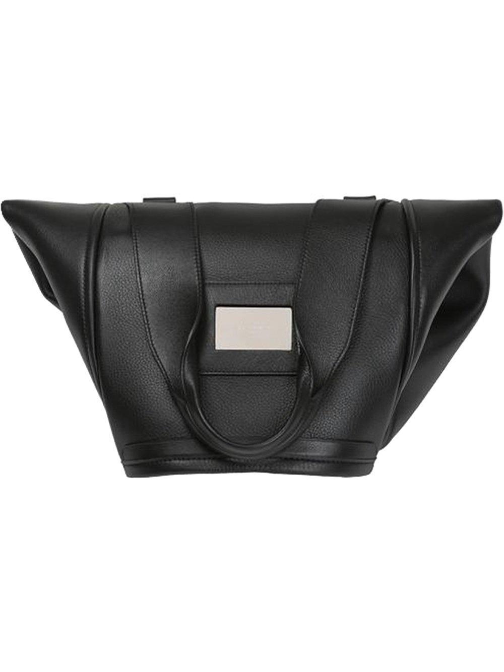 d939908499 Balenciaga - Black - Foldover Tote - Women - Calf Leather - One Size - Lyst