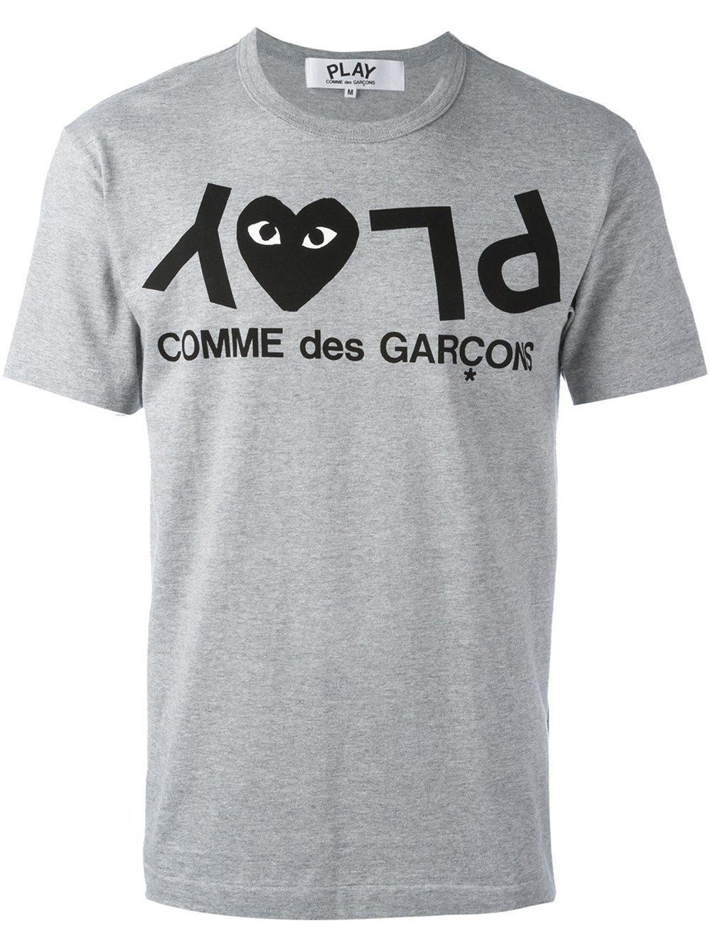 Play Comme Des Gar Ons Comme Des Gar Ons Play Logo Print T