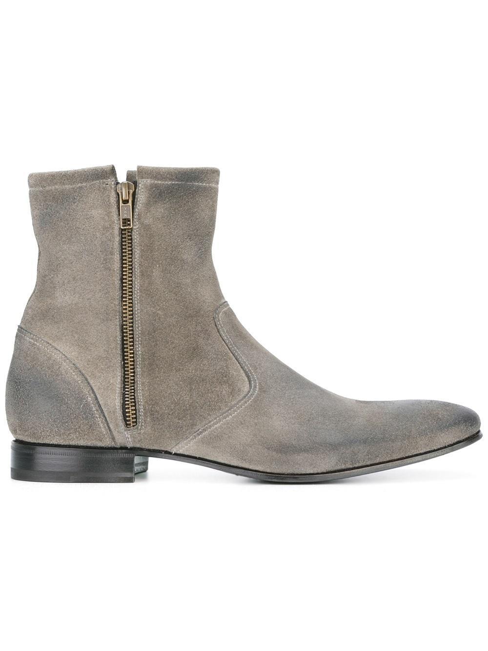 Lyst Pete Sorensen Hurricane Boots In Gray For Men