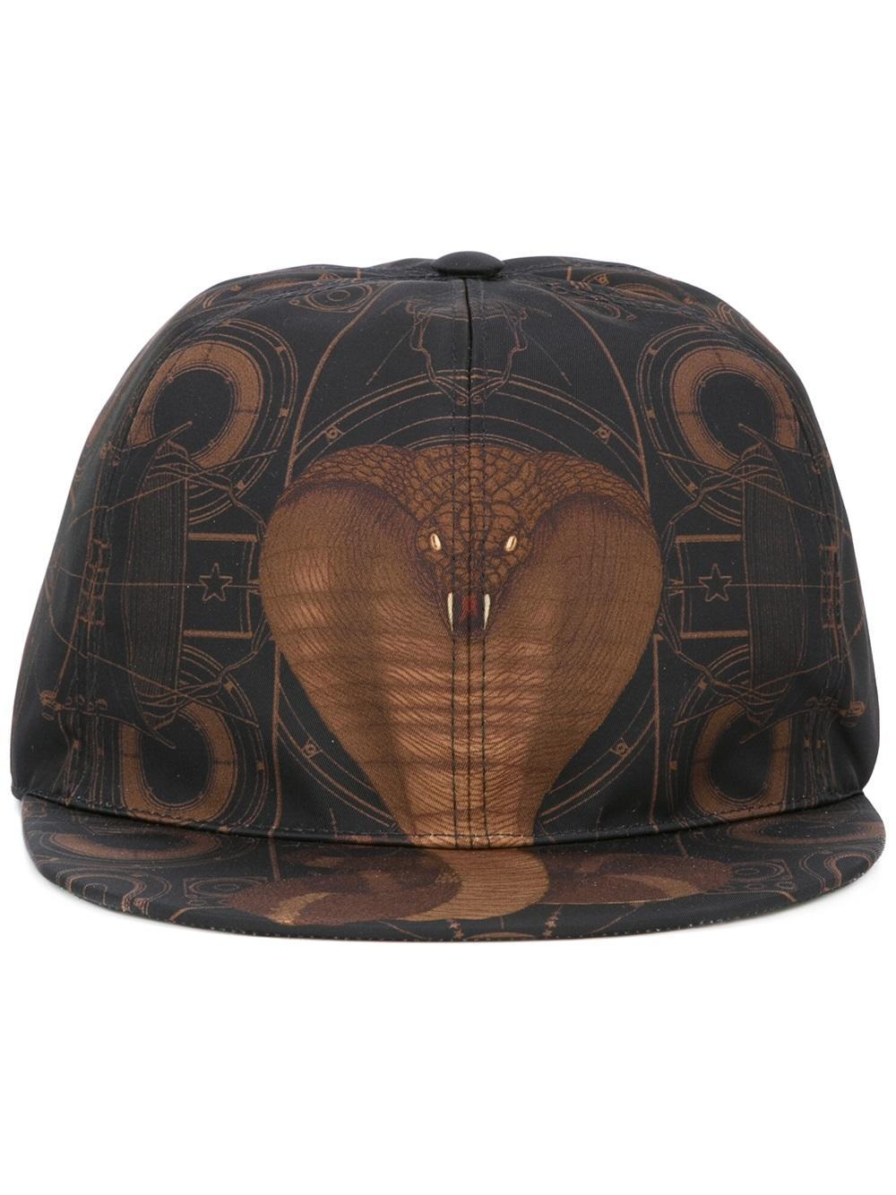 291c404da7e Lyst - Givenchy Cobra Print Hat in Black for Men