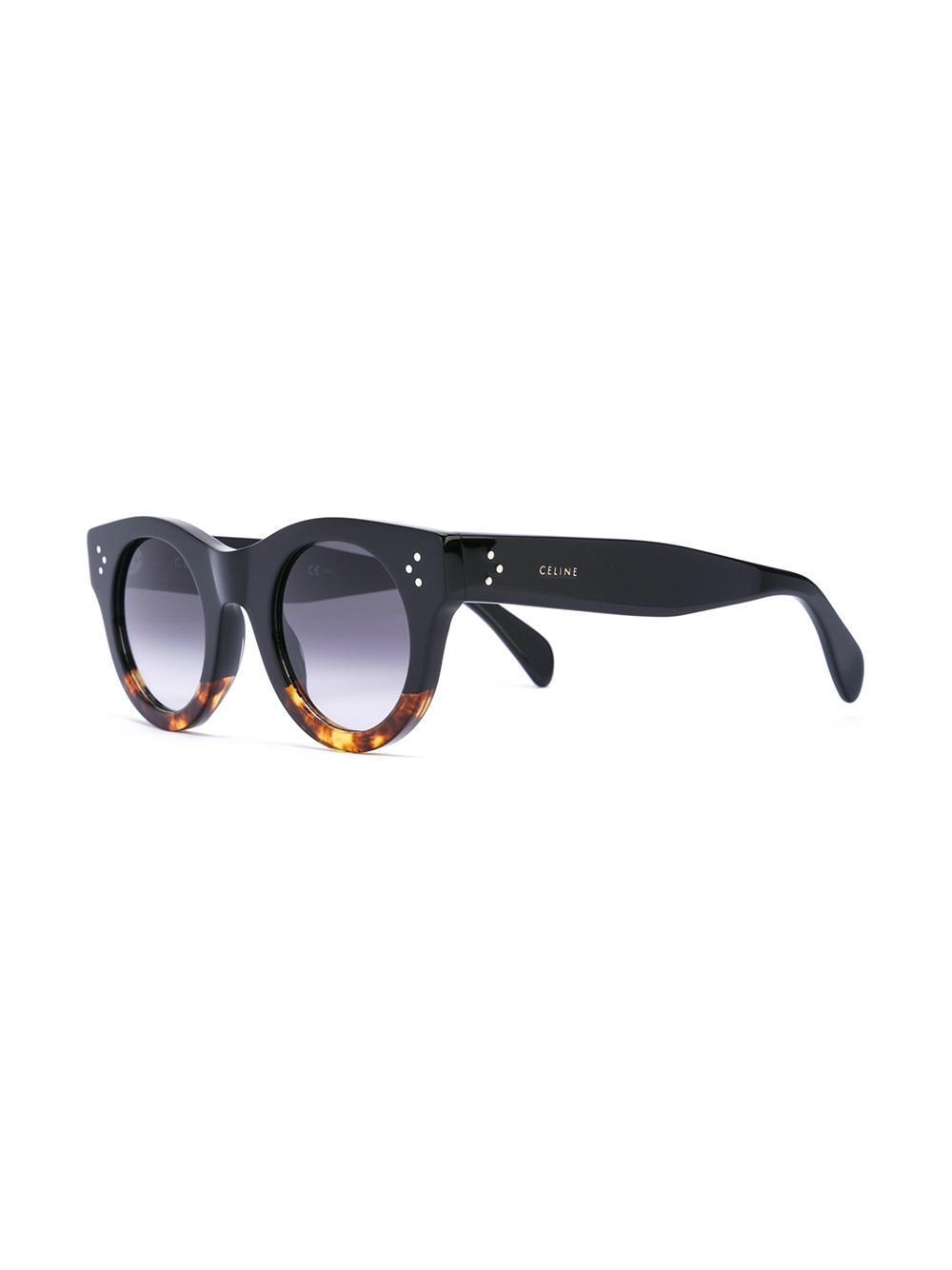 209f42f3c0e75 Céline  alia  Sunglasses in Black - Lyst