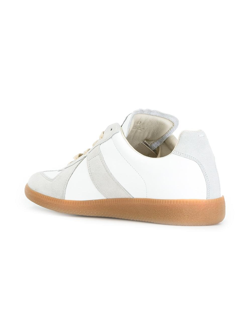 Maison margiela replica sneakers for men lyst for Maison de margiela