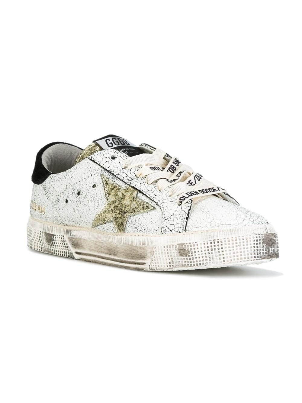 lyst golden goose deluxe brand may sneakers in white. Black Bedroom Furniture Sets. Home Design Ideas