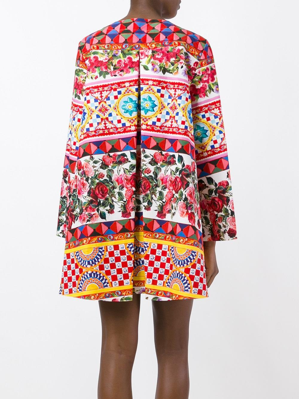 Dolce & gabbana - Mambo Print Flared Dress