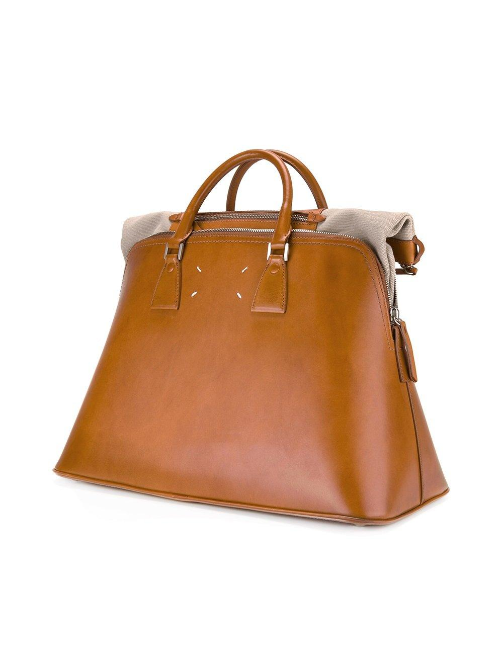Lyst maison margiela large 5ac tote in brown for men for Maison de margiela