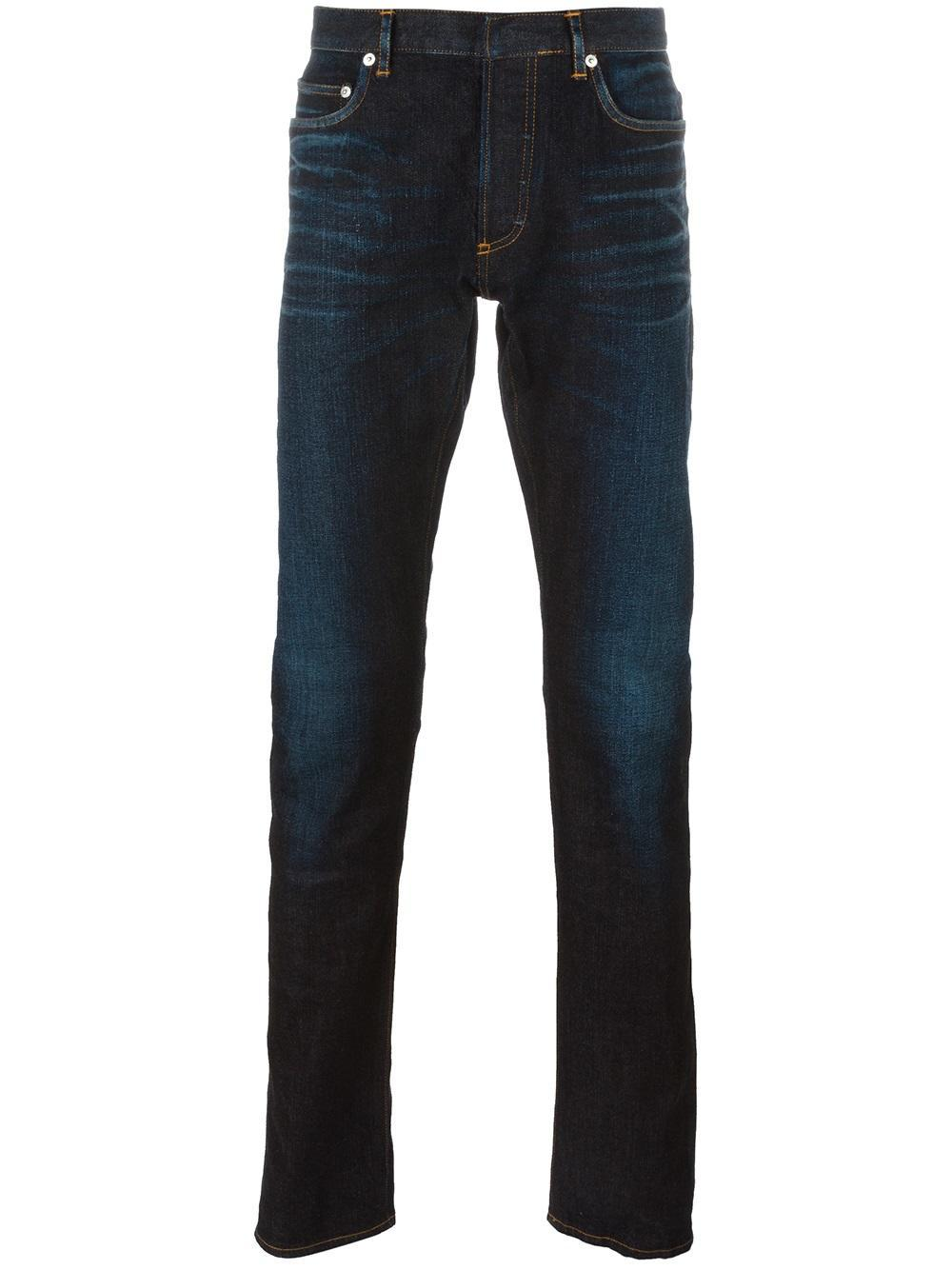 Dior homme Tapered Jeans in Blue for Men | Lyst