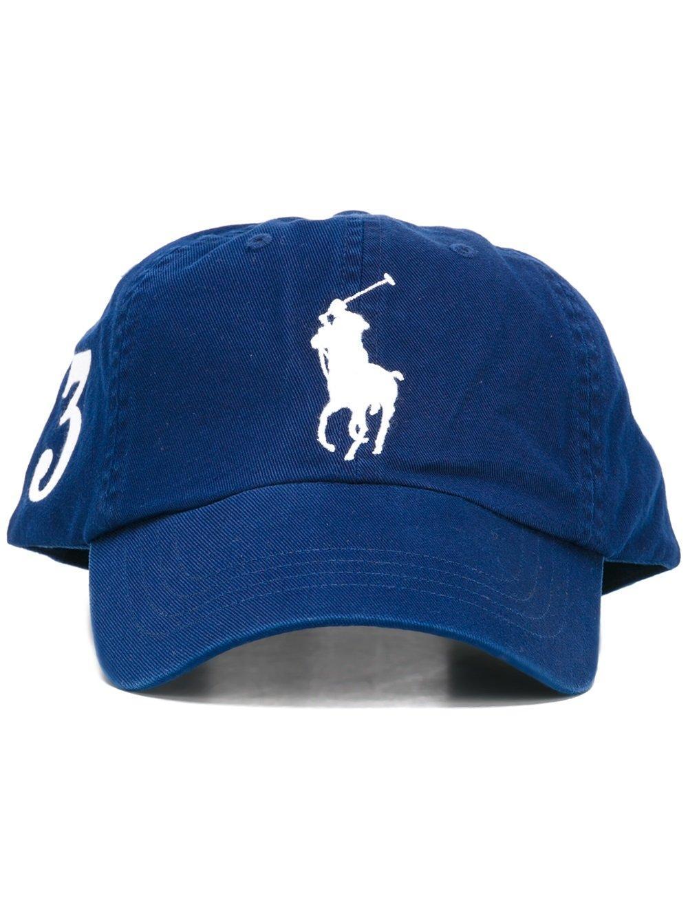 lyst polo ralph lauren big pony baseball cap in blue for men. Black Bedroom Furniture Sets. Home Design Ideas