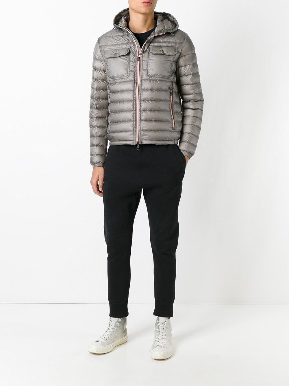 Moncler Douret Padded Jacket In Gray For Men Lyst
