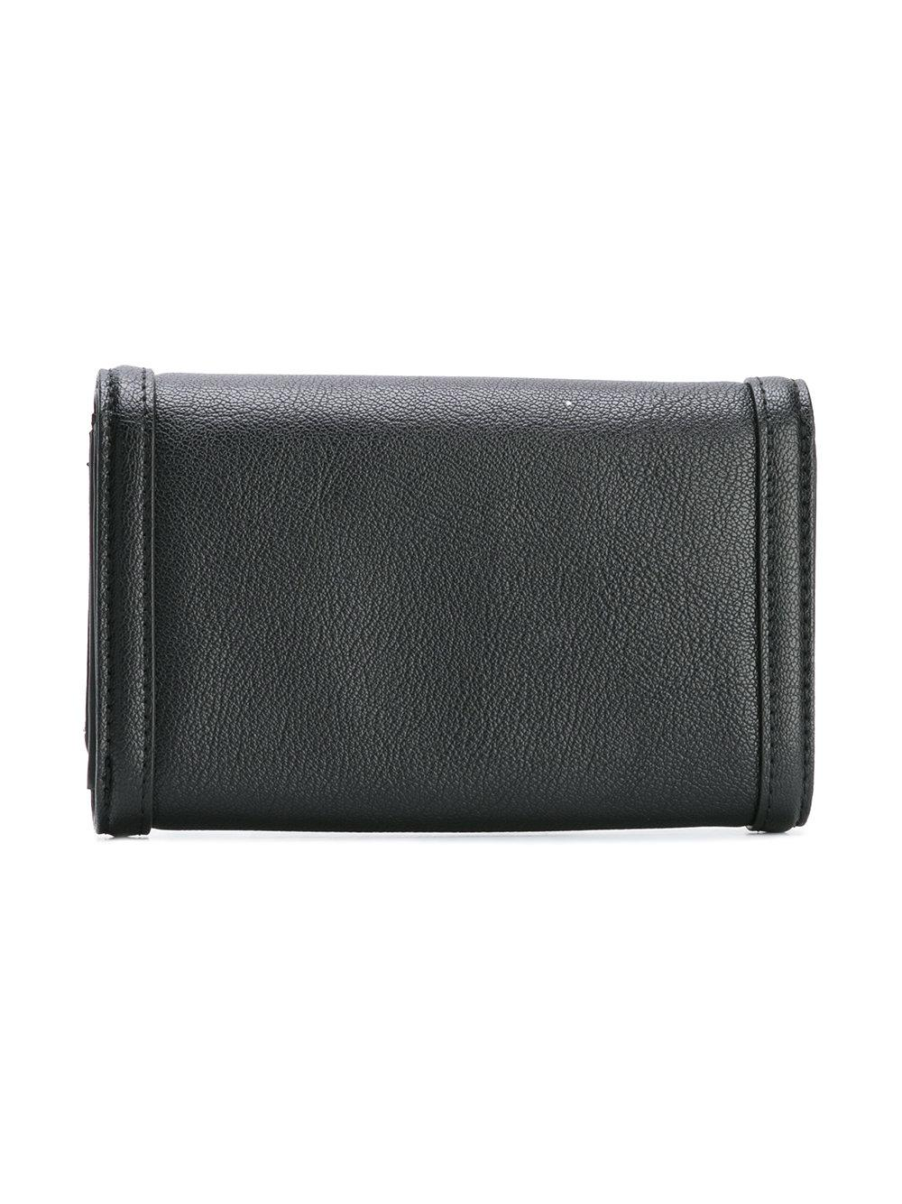 Love Moschino Snap Wallet In Black For Men Lyst