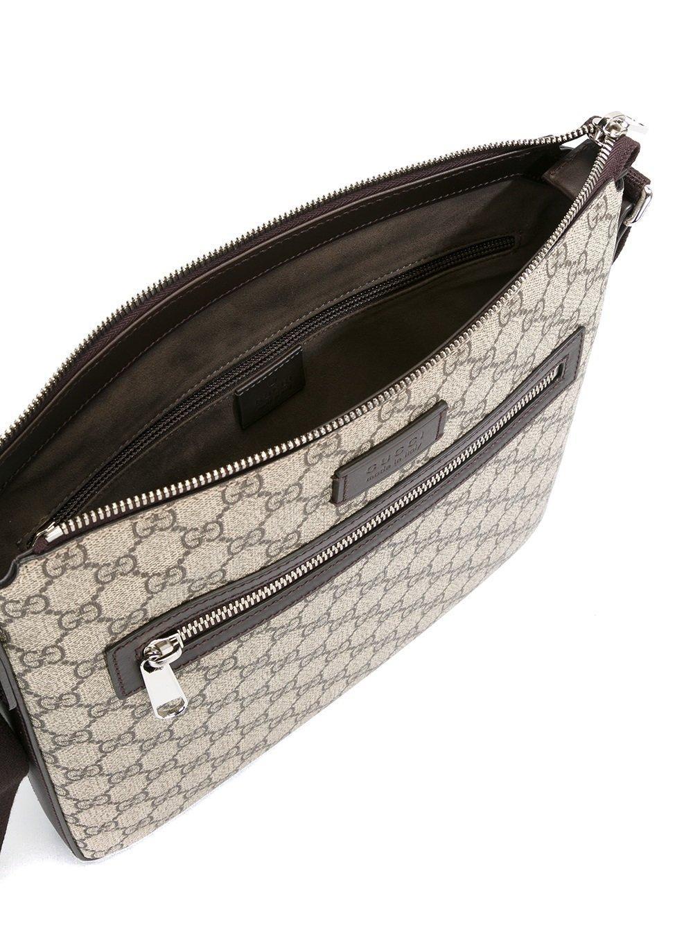 6df696fb7a01 Gucci Gg Supreme Messenger Bag for Men - Lyst