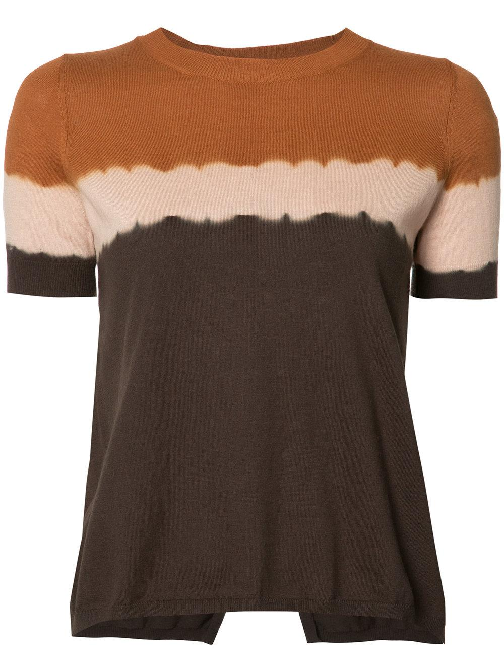 Lyst Toile Isabel Marant Gradient Effect T Shirt In Brown