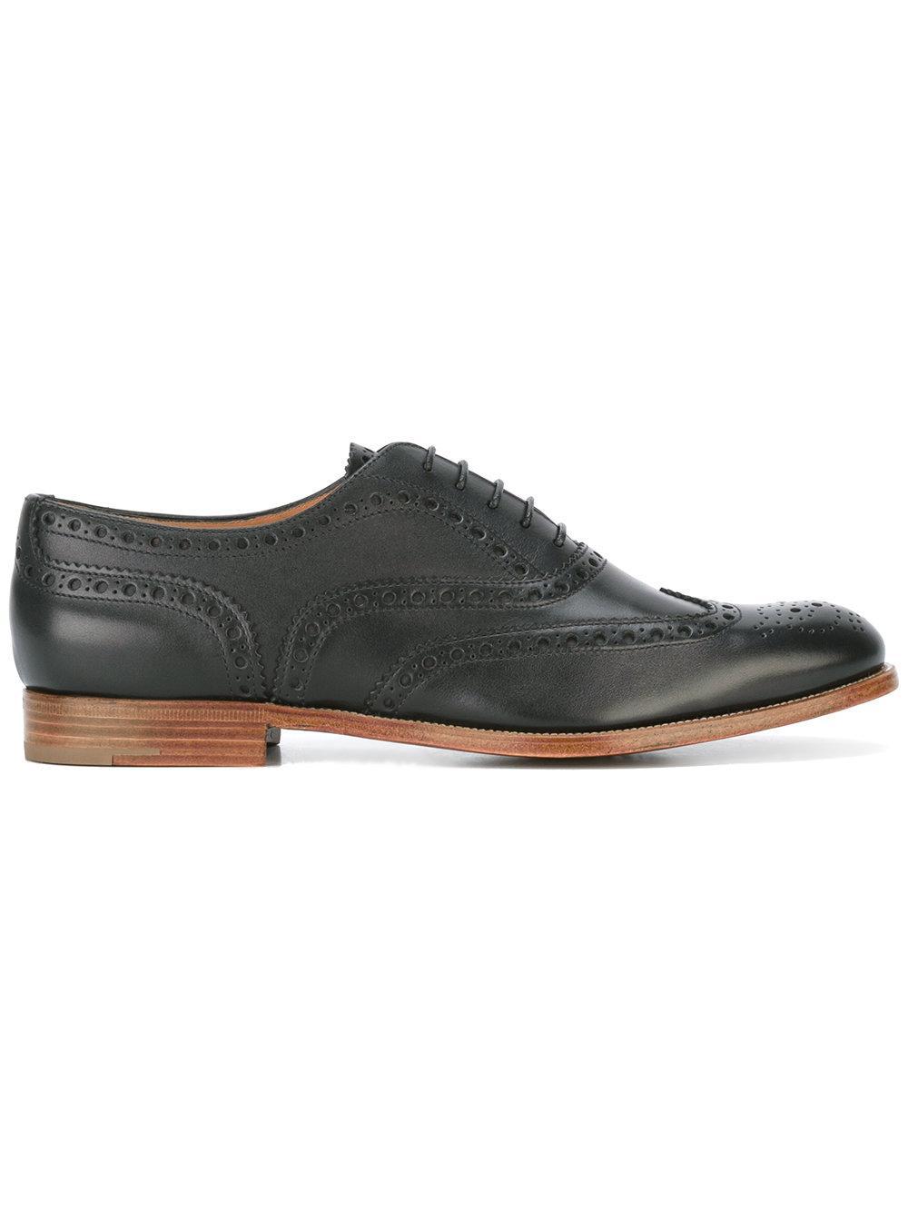 Men S Alden Leather Lace Up Dress Shoes