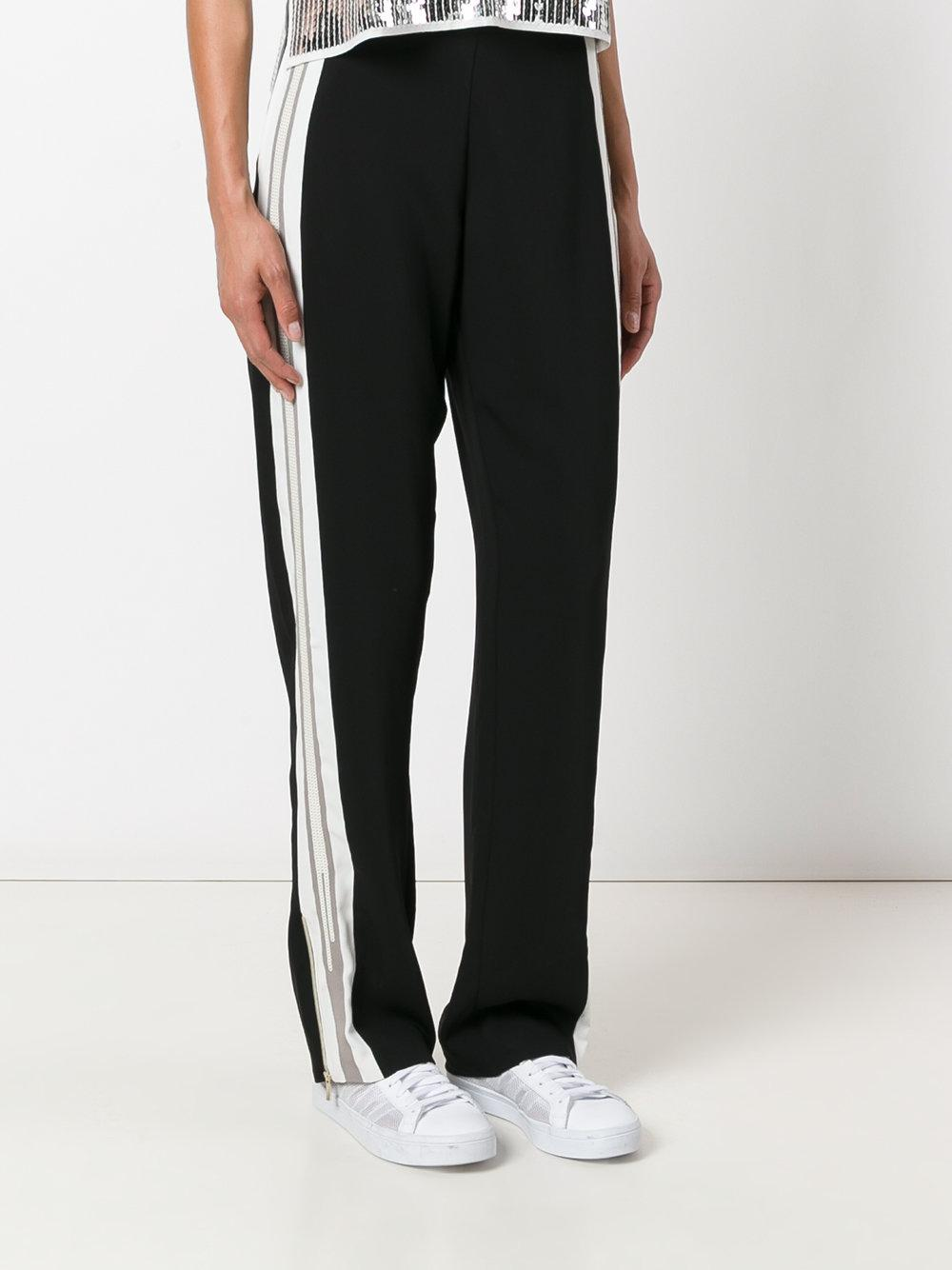 Lyst Aviu Side Stripe Track Pants In White