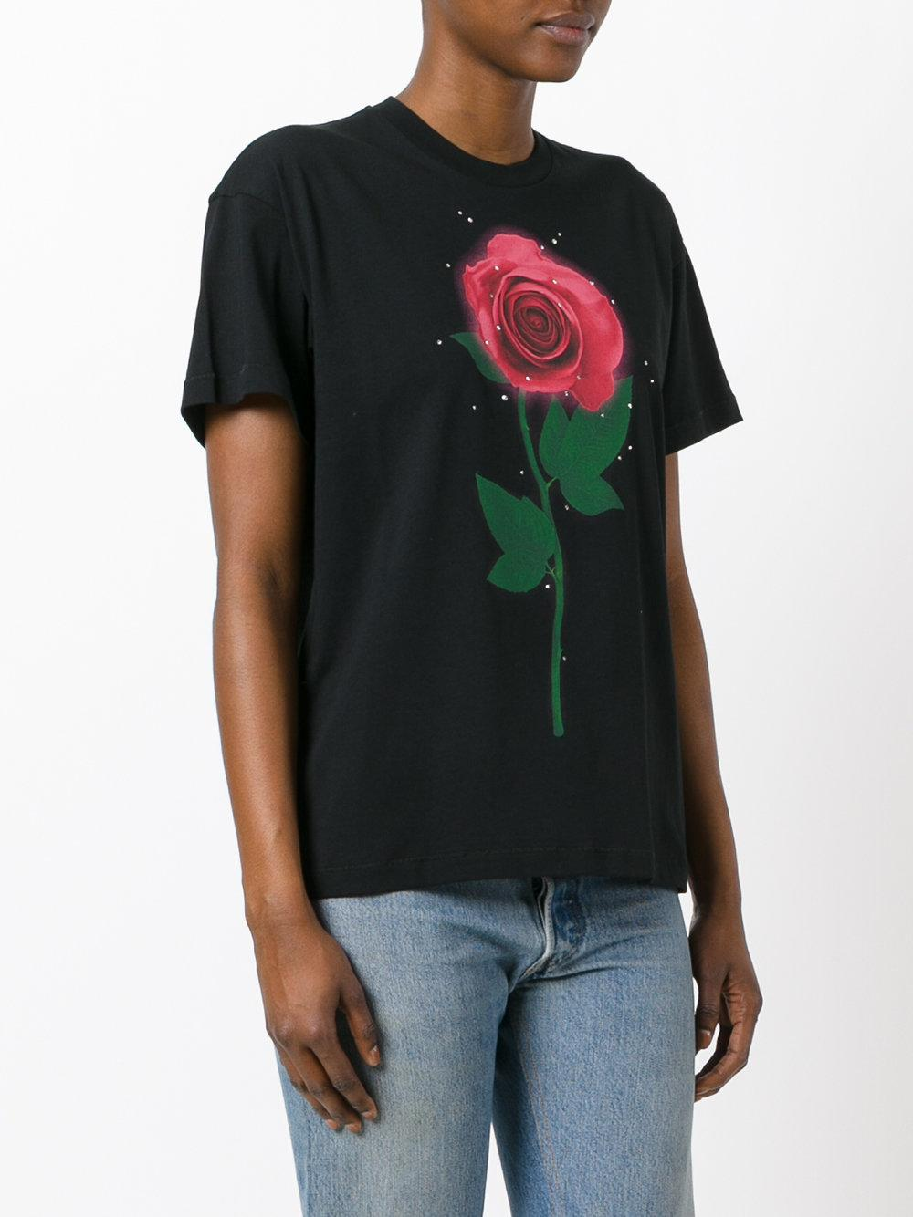 Lyst Christopher Kane Beauty And The Beast T Shirt In
