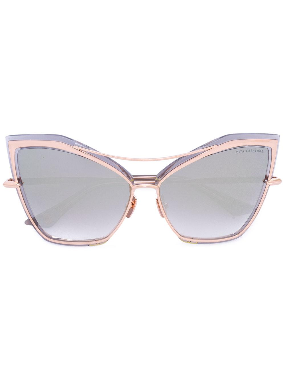 Lyst Dita Eyewear Creature Sunglasses In Gray
