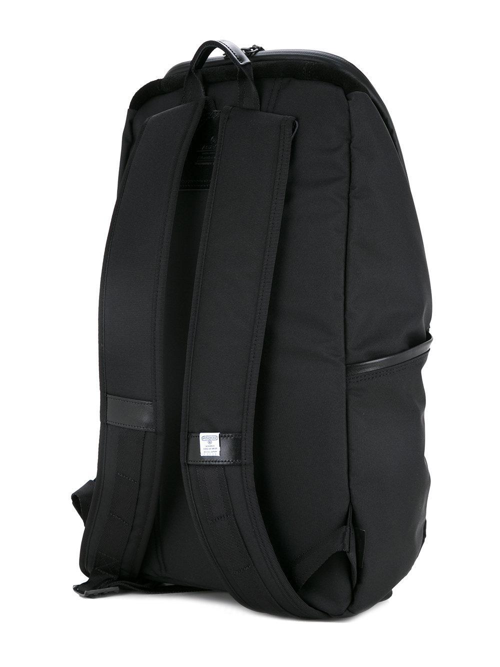 dad6af48f7 AS2OV Zaino Con Zip A Contrasto in Black for Men - Lyst