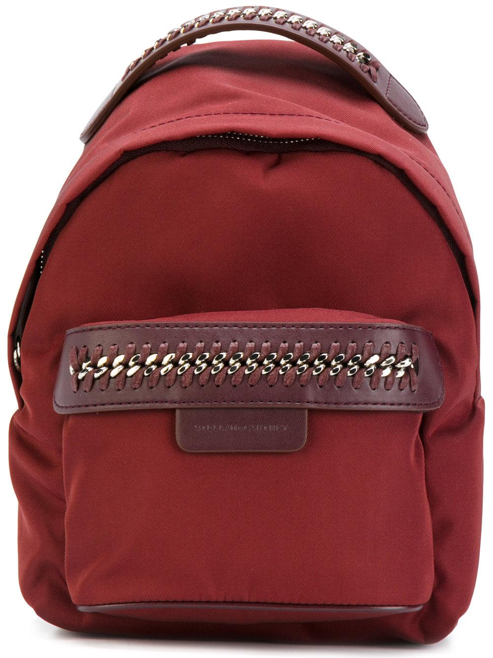 stella mccartney falabella go backpack in red lyst. Black Bedroom Furniture Sets. Home Design Ideas